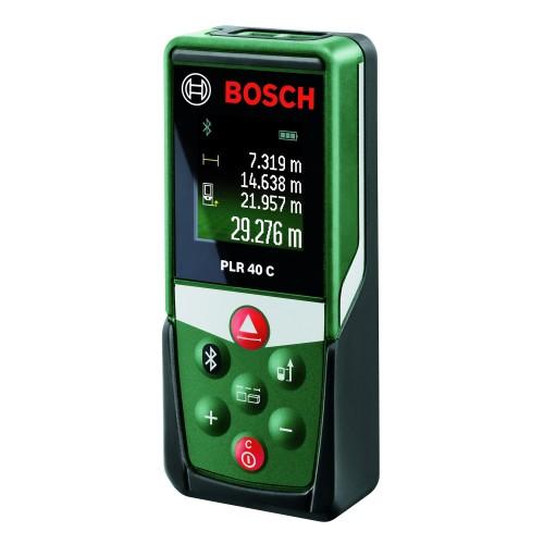Telemetru digital cu laser Bosch PLR 40 C